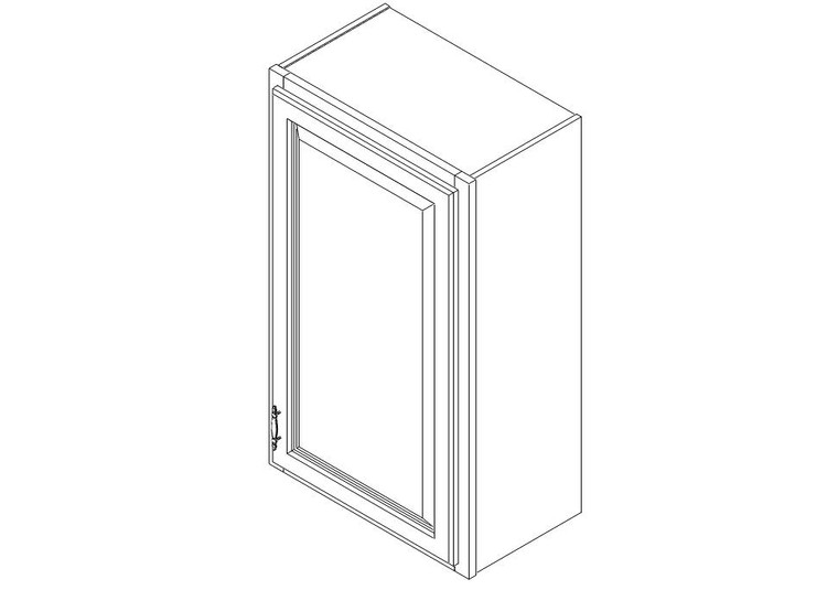 "Wall Cabinet 21"" x 36"""