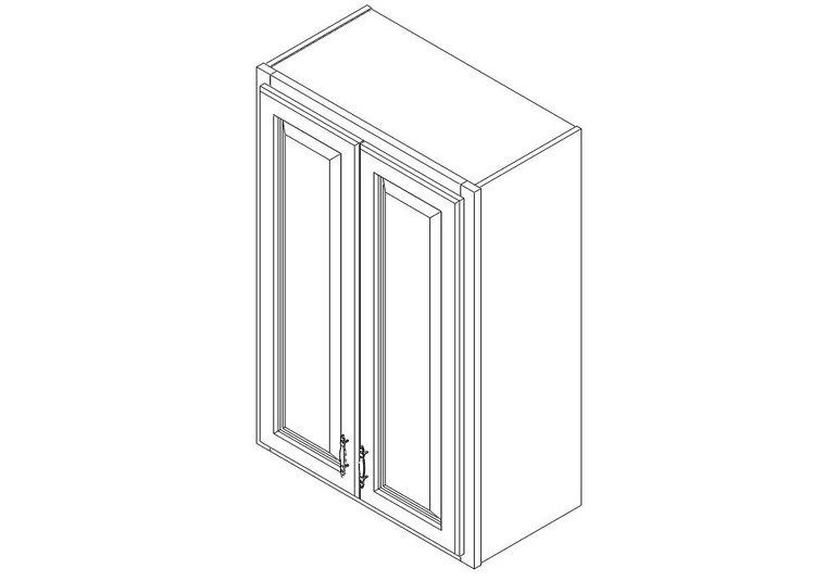 """Wall Cabinet 24"""" x 36"""""""