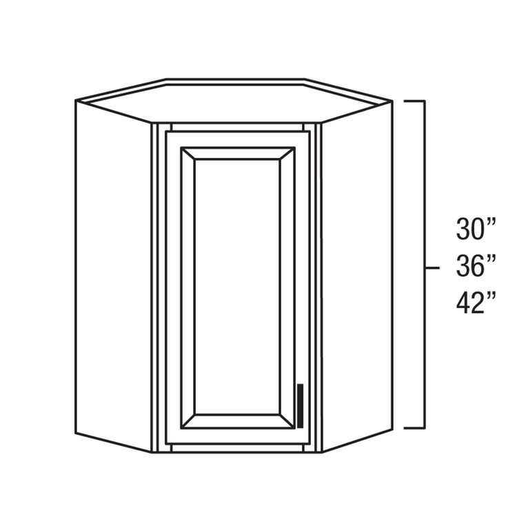 "Wall Blind Corner Cabinet 24 x 36"""