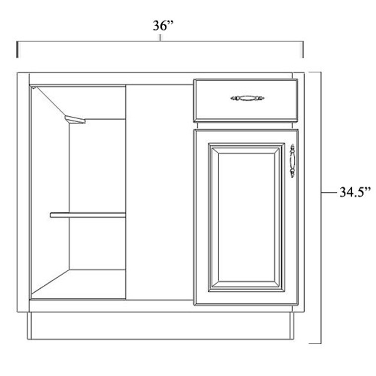 Blind Corner Base Cabinet 36