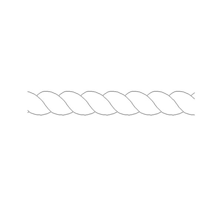 Rope Insert Moulding