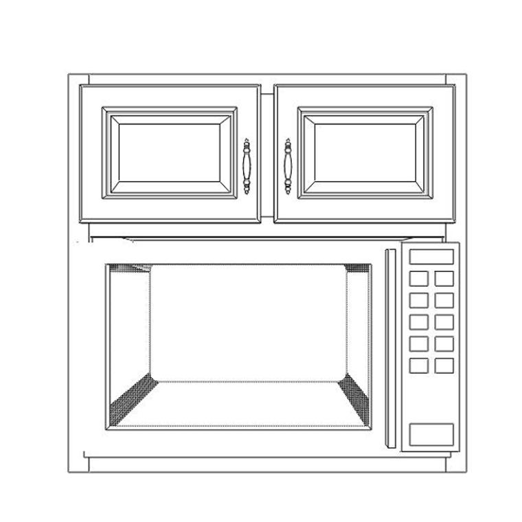 Microwave Wall 3030
