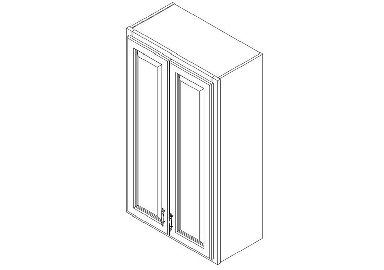 Wall Cabinet 2442