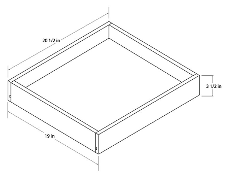 Universal Roll Out Trays - 21