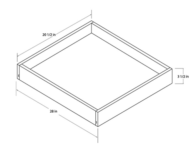 Universal Roll Out Trays - 30