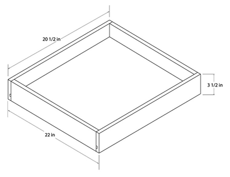 Universal Roll Out Trays - 24