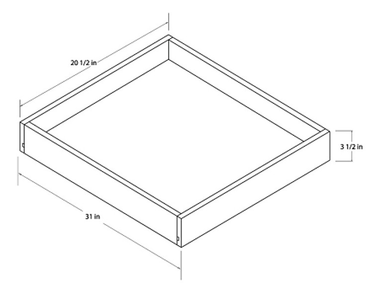 Universal Roll Out Trays - 33