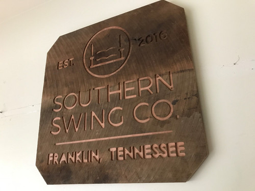 Southern Swing Co sign