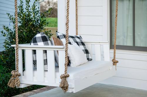 Porch swing bed farmhouse