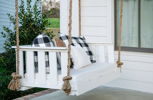 Porch swing bed farmhouse