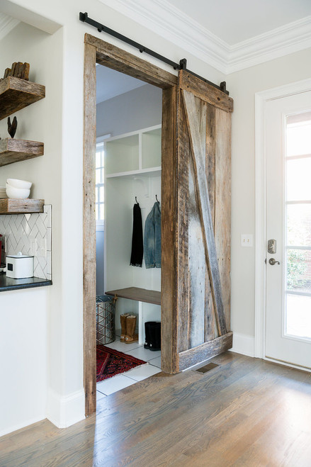 Barn door, reclaimed barn wood