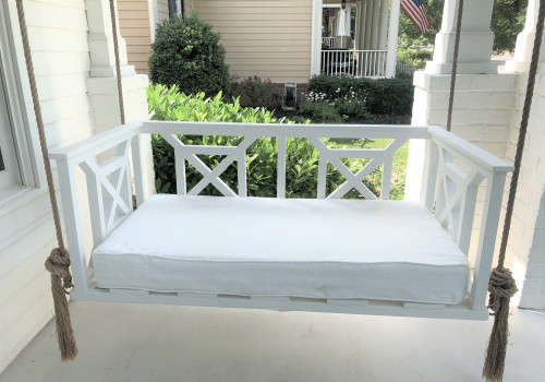 Tupelo Porch Swing Bed