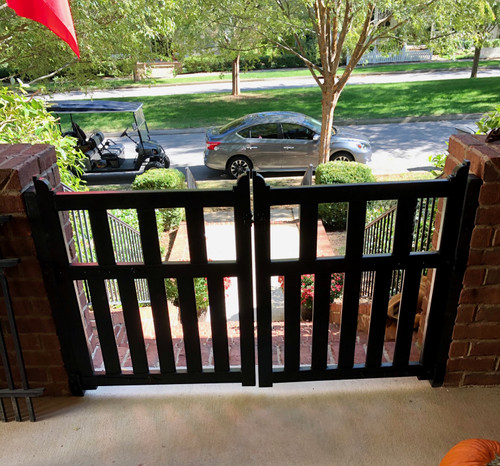 Double Door Porch Gate