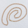 """Second Hand 9ct Rose Tinged Gold 21"""" Anchor Link Chain Necklace"""