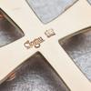 Second Hand 9ct Gold & Pearl Clogau Celtic Cross Pendant