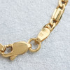"Second Hand 18ct Gold 22"" Fancy Figaro Matinee Chain Necklace"