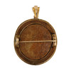 Rear Image of Vintage 9ct Gold Cameo Brooch / Pendant