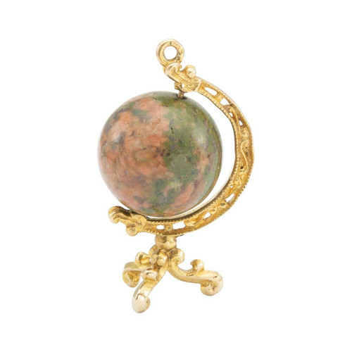 Second Hand 9ct Gold Globe Charm Pendant