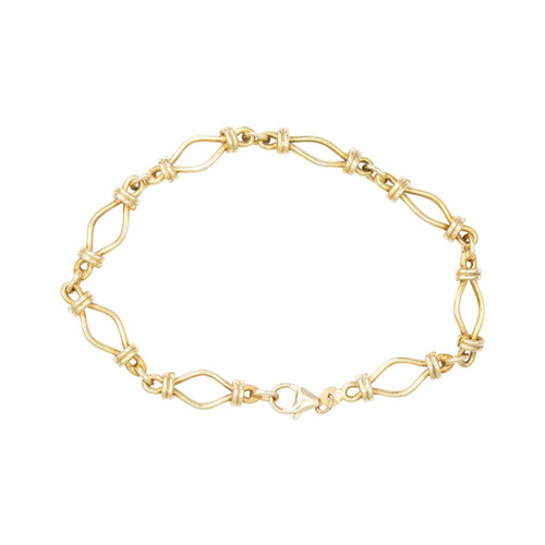 Second Hand 9ct Gold Fancy Link Bracelet