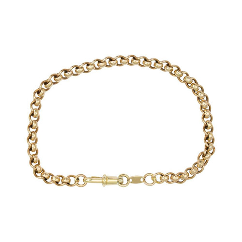 "Second Hand 9ct Gold 9"" Belcher Bracelet"