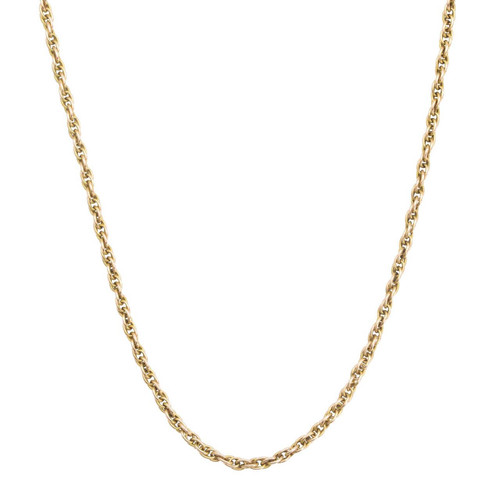 "Second Hand 9ct Gold 22"" Prince of Wales Chain Necklace"
