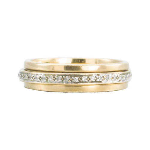 Second Hand 9ct Gold Diamond Full Eternity Ring