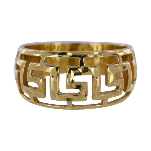 Second hand 18ct Gold Fancy Openwork Band