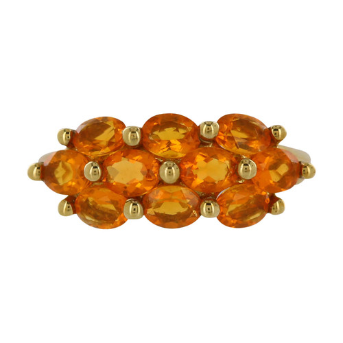 Second Hand 9ct Gold Golden Citrine Dress Ring