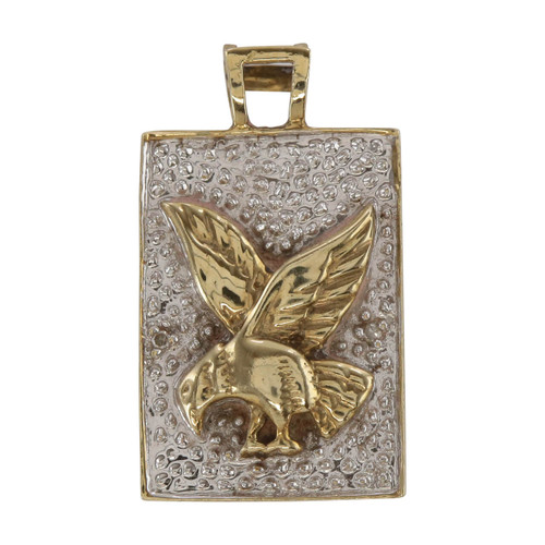 Second Hand 9ct Gold Eagle Pendant