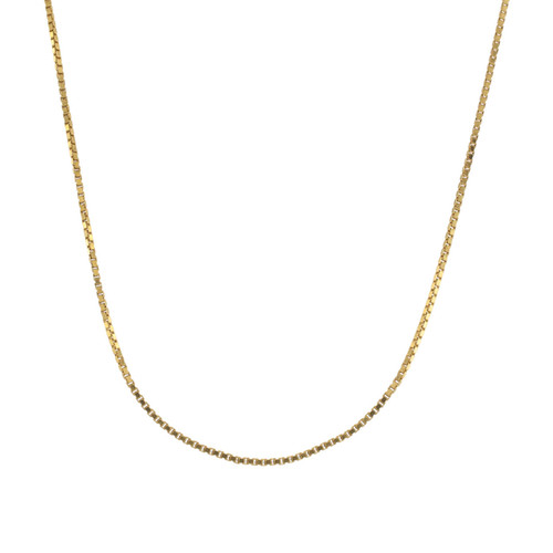Second Hand 18ct Gold Box Chain