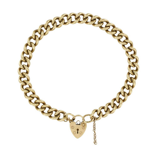 Image of Second Hand Gold Charm Bracelet