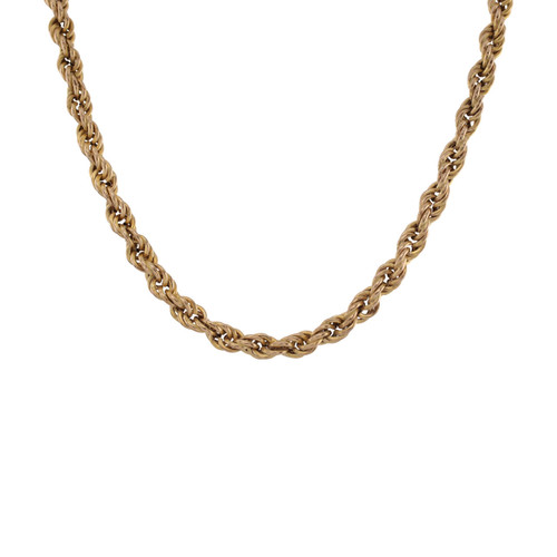 Second 9ct Gold Long Rope Chain