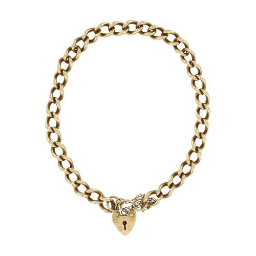 Second Hand 9ct Gold Charm Bracelet