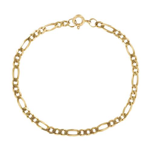 Second Hand 9ct Gold Figaro Bracelet