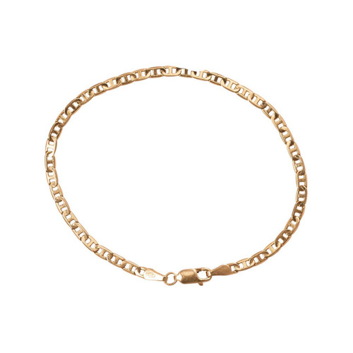 Second Hand 9ct Gold Anchor Link Bracelet