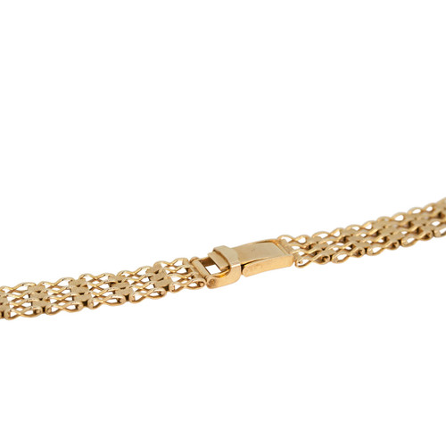 Second Hand 9ct Gold Ladies Watch Bracelet