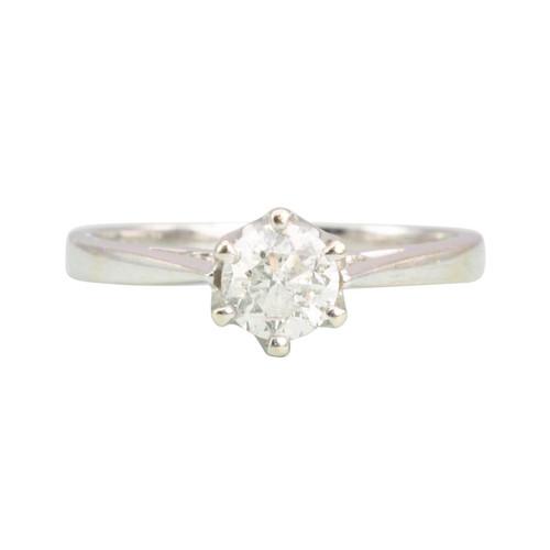 Second Hand 18ct Gold 0.50 Carat Diamond Engagement Ring