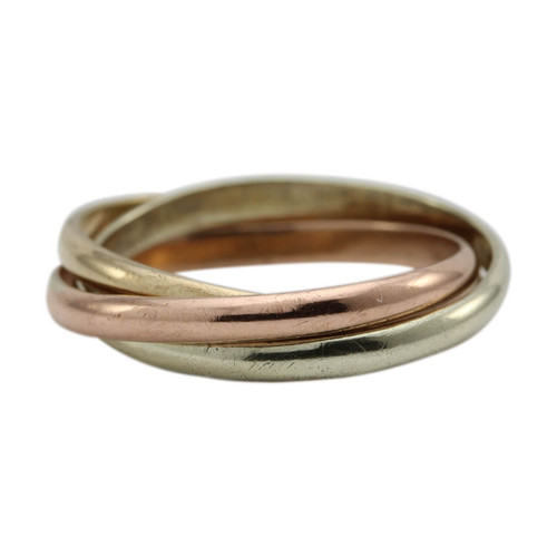 Second Hand 9ct Gold 2mm Russian Wedding Ring