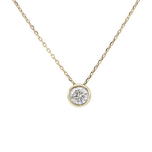Second Hand 0.50 Carat Diamond Pendant & Chain