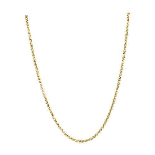 "Second Hand 18ct Gold 18"" Spiga Chain Necklace"