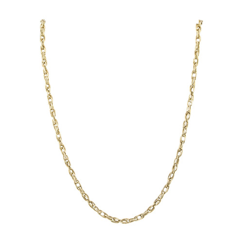 "Second Hand 9ct Gold 25"" Prince of Wales Chain Necklace"