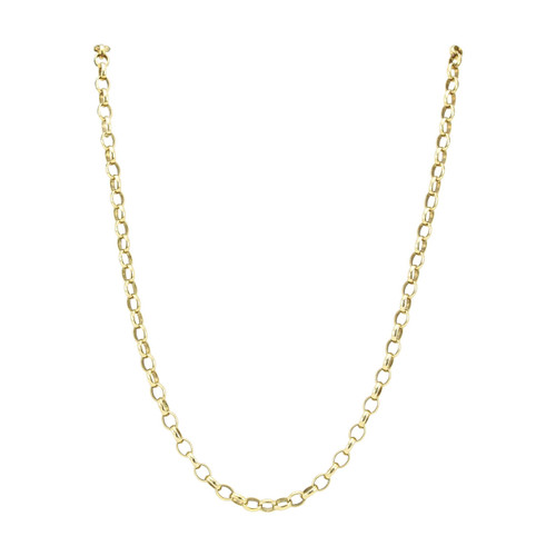 "Second Hand 9ct Gold 16"" Belcher Chain"