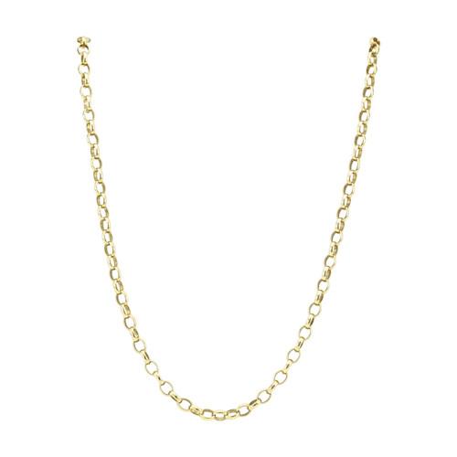 "Second Hand 9ct Gold 16"" Belcher Chain"