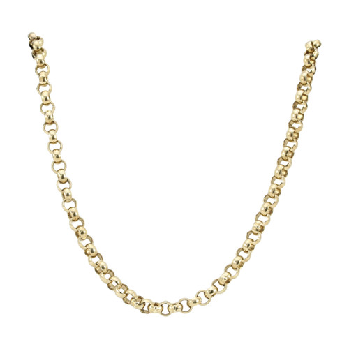"Second Hand 9ct Gold 26"" Belcher Chain Necklace"