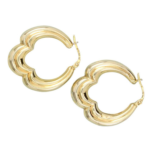 Second Hand 9ct Gold Creole Earrings