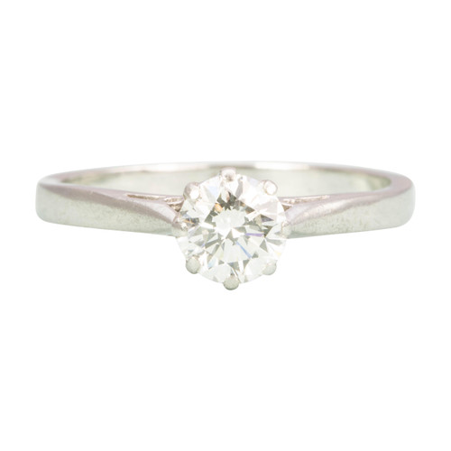 Second Hand Platinum Diamond Solitaire Engagement Ring