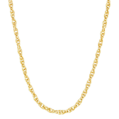 "Second Hand 18ct Gold 26"" Long Prince of Wales Chain Necklace"