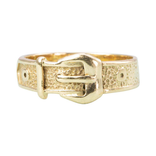 Second Hand 9ct Gold Buckle Ring