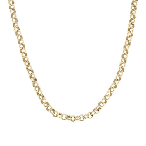 "Vintage 9ct Gold 26"" Belcher Chain Necklace"