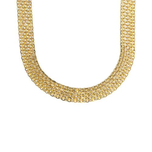 Second Hand 9ct Gold Milanese Collar Necklace